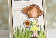 MFT - Sunflower Sweetheart Stamp Set