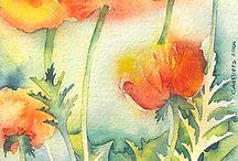 Flores / Acuarelas