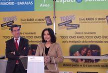 Presentación espacios solidarios en aeropuertos españoles / Aena ha cedido varios espacios en los aeropuertos españoles para que podamos dar a conocer nuestro movimiento y animar a todos los ciudadanos a colaborar con las enfermedades raras. ¡Gracias!