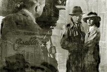 Casablanca Pop Art Canvas