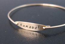 bracelets / by Alina Bogdan