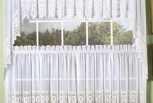 Kitchen Curtain Collections | Tier Curtains | Valances | Swags