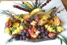 gyümölcs tál