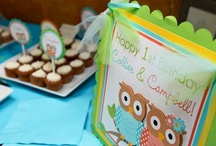Details of an amazing first birthday party