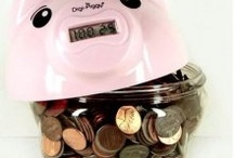 My Collection of Piggy Banks / by Betty