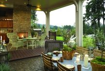 Outdoor Kitchens / by Kathleen Markell