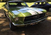 Ford Mustang / Des Ford Mustang de 64 à 68