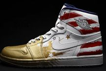 Custom Nike Air Jordans / Dedicated to the rarest custom Air Nike Michael Jordan sneakers this planet has ever seen. Every sneaker on this board is 100% custom by the world's best sneaker artists.