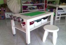 tavolino lego / tavolo gioco lego