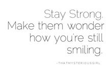 ~ Quotes /about how strong we are/ ~