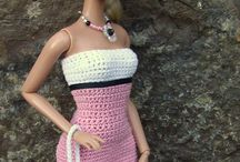 Barbie knit and crochet