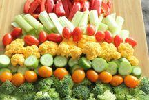 Decoration fruit et legumes