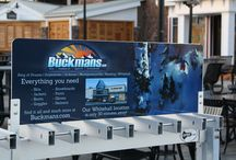 Advertising on Ski Key Racks / Local Business Ads placed at Ski Key resorts on our Ski & Snowboard Racks. Getting those businesses thousands of ad impressions all season long