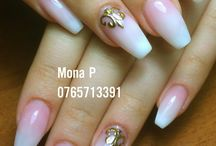 Nails styles / Once I would like nails like these