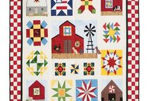 Quilts n Crafts / Quilts, fabric, sewing, crafts, sewing/craft rooms / by Linda Aisthorpe