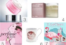 Love for Beauty / products collections around a theme
