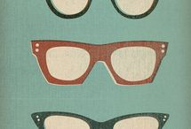 Sun & Glasses / glasses from past to future