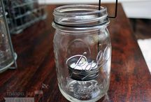 Mason Jars: Outdoor Living / This board is devoted to all the accessories and crafts that make a Mason jar the star of the outdoors!