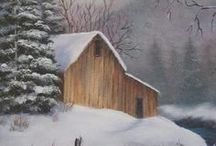 paisaje invernal...
