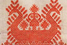 Embroidery - Cross Stitch - Slavic / by Maya Heath