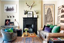 Fireplace + Mantle / by Carrie Jerrell