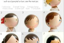 Peg Dolls / Ideas for creating, painting, and clothing peg dolls.