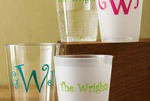 Cups and Thangss / Monogram everything / by Kayleigh Rich