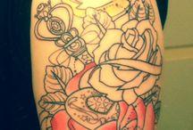 Mashup tattoo