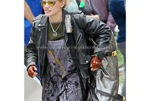 Jillian Holtzmann Ghostbusters Black Jacket / Get this stylish Ghostbusters Kate McKinnon Distressed Leather Jacket at most affordable price from Sky-Seller with free Shipping