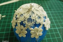 A - Quilling - Oeufs