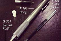 EDC pens / biro / pencils