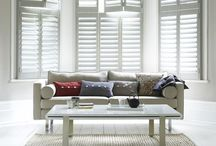 Bay Window Dressing / Bay window dressing can be simple and have stunning results in your period home. Celebrate your beautiful bay window with these shutter looks