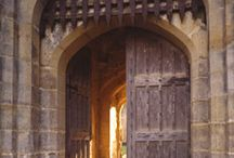 Front gates to White Castle