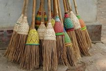 balais - brooms - brush / take every pin you like,  but please be reasonabable... :) / by Carole Grant