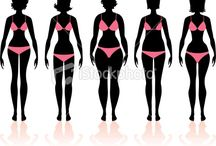 Body Types - Which One Are You? / It's important for women and men what their body type is so they can properly dress themselves!  85% of women don't know how to dress for their body type.  We can help! www.KaraAllan.com / by Style By Kara Allan