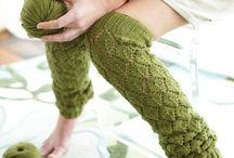 K ... Knitting - Legwarmers/ Boot Cuffs/ Socks
