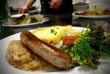 Unsere Klassiker  Fleisch / Unsere Klassiker sind die Gerichte, die wir über eine Saison im Angebot haben.