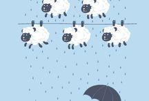 Decor Baby's Room Sheep