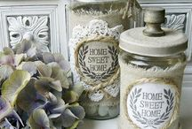 Altered Jars &Tins