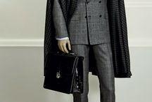 0 dark grey suit