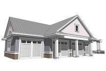 4+-Car Garage Plans / Detached 4-Car Garage Plans or Larger Garage Plans