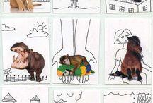 arte para niños (collage)