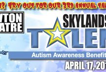 SKYLANDS' GOT TALENT / 3rd ANNUAL SKYLANDS GOT TALENT! Skylands Got Talent is the regions' premier talent show! Come out and show your support for up-and-coming acts of all genres. This event will be fun for the whole family! To become a contestant and showcase your artistic abilities - and live in Sussex, Warren or Pike County - visit www.thenewtontheatre.com for information about how to audition. Acts of all types will be considered. All proceeds to benefit Autism related organizations. The Newton Theatre 4/17/2016.