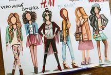 fashion on paper