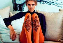 Tights / Original women's tights  Tights with prints Gradient tights http://www.nechegonadet.ru/tights-lleggings.html
