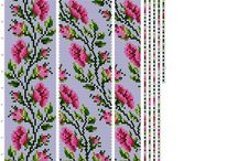 Схемы для вязания жгутов из бисера
