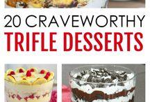 Trifles desserts