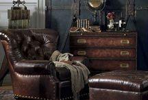 Dandy/steampunk home ideas