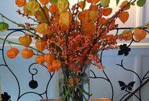 Floral Table Diplays