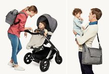 Premium Baby Changing Bag –Doubles as a Backpack! / Stokke introduces a brand new changing bag for our premium line of strollers. Designed especially so that you can stroll in style and ease while exploring the world together, our designers have put a lot thought into it. / by STOKKE®